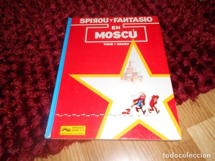 SPIROU Y FANTASIO EN MOSCU - LAS AVENTURAS DE SPIROU Nº 28 - ED. JUNIOR 1992, 1ª EDICION NUEVO (Tebeos y Comics - Grijalbo - Spirou)