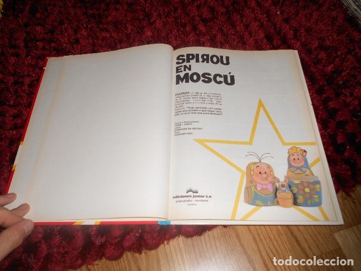 Cómics: SPIROU Y FANTASIO EN MOSCU - LAS AVENTURAS DE SPIROU Nº 28 - ED. JUNIOR 1992, 1ª EDICION NUEVO - Foto 2 - 178386396