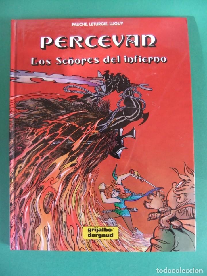 PERCEVAN Nº 7 LOS SEÑORES DEL INFIERNO GRIJALBO (Tebeos y Comics - Grijalbo - Percevan)