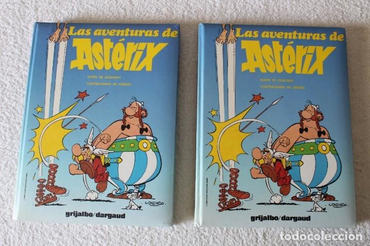 Cómics: LAS AVENTURAS DE ASTERIX (7 TOMOS) GOSCINNY / UDERZO - GRIJALBO DARGAUD - AÑO 1989 - Foto 6 - 178586236