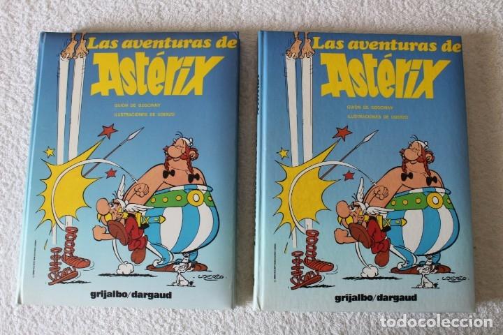 Cómics: LAS AVENTURAS DE ASTERIX (7 TOMOS) GOSCINNY / UDERZO - GRIJALBO DARGAUD - AÑO 1989 - Foto 8 - 178586236