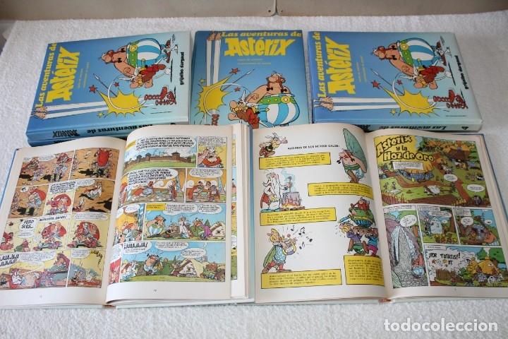 Cómics: LAS AVENTURAS DE ASTERIX (7 TOMOS) GOSCINNY / UDERZO - GRIJALBO DARGAUD - AÑO 1989 - Foto 12 - 178586236