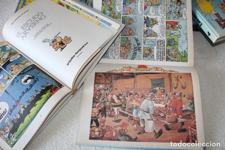 Cómics: LAS AVENTURAS DE ASTERIX (7 TOMOS) GOSCINNY / UDERZO - GRIJALBO DARGAUD - AÑO 1989 - Foto 13 - 178586236