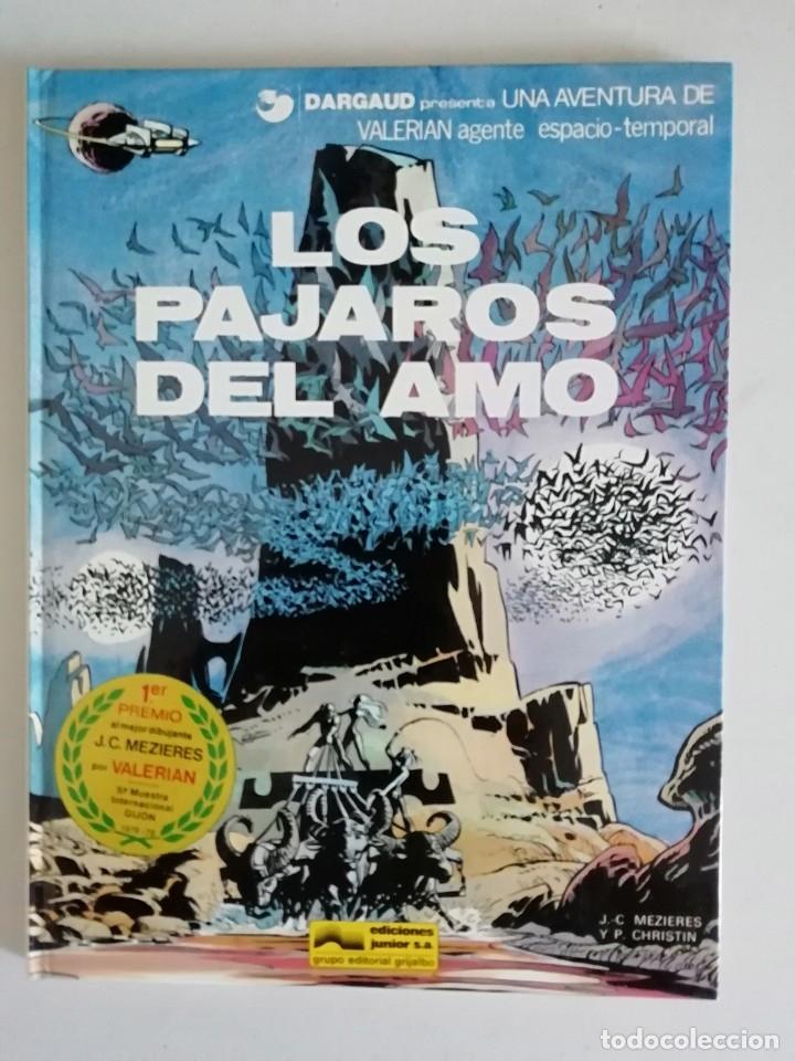 VALERIAN LOS PAJAROS DEL AMO NUM.4 (Tebeos y Comics - Grijalbo - Valerian)