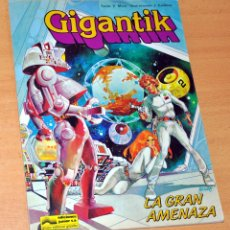Cómics: GIGANTIK - LA GRAN AMENAZA - DE VÍCTOR MORA Y J. CARDONA - EDICIONES JUNIOR / GRIJALBO - AÑO 1984. Lote 178661951