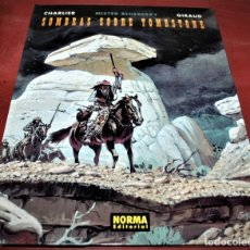 Cómics: MISTER BLUEBERRY - SOMBRAS SOBRE TOMBSTONE - CHARLIER/GIRAUD - NORMA 2001. Lote 178678378