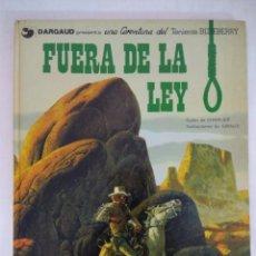 Cómics: TENIENTE BLUEBERRY/FUERA DE LA LEY Nº19 GRIJALBO. . Lote 178681063
