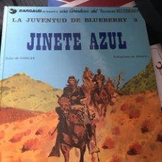 Cómics: BLUEBERRY: LA JUVENTUD DE BLUEBERRY Nº3 JINETE AZUL . Lote 178846035