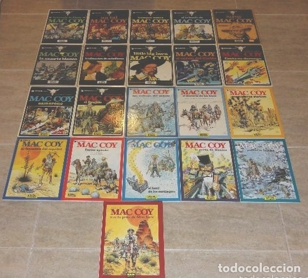 MAC COY COLECCIÓN COMPLETA 1 AL 21 GRIJALBO / DARGAUD TAPA DURA (Tebeos y Comics - Grijalbo - Mac Coy)