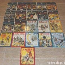 Cómics: MAC COY COLECCIÓN COMPLETA 1 AL 21 GRIJALBO / DARGAUD TAPA DURA. Lote 178850406