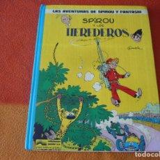Cómics: SPIROU Y FANTASIO Y LOS HEREDEROS ( FRANQUIN ) TAPA DURA 2 JUNIOR GRIJALBO. Lote 178952198