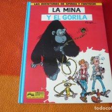 Cómics: SPIROU Y FANTASIO LA MINA Y EL GORILA ( FRANQUIN ) ¡MUY BUEN ESTADO! TAPA DURA 9 JUNIOR GRIJALBO. Lote 178952862