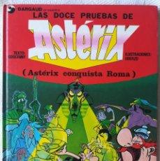 Cómics: LAS DOCE PRUEBAS DE ASTERIX - TAPA DURA - PRIMERA EDICIÓN. Lote 179064083
