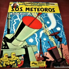 Cómics: BLAKE Y MORTIMER - S.O.S. METEOROS - E.P.JACOBS - JUNIOR - 1985. Lote 179106216