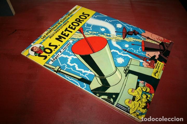 Cómics: BLAKE Y MORTIMER - S.O.S. METEOROS - E.P.JACOBS - JUNIOR - 1985 - Foto 5 - 179106216
