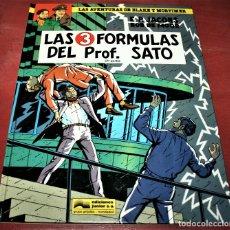 Cómics: BLAKE Y MORTIMER - LAS 3 FÓRMULAS DEL PROF. SATO 2ª PARTE - E.P.JACOBS/ BOB DE MOOR - JUNIOR - 1991. Lote 179106388