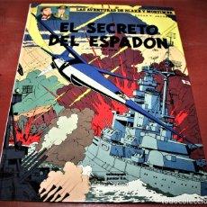 Cómics: BLAKE Y MORTIMER - EL SECRETO DEL ESPADÓN 3ª PARTE - E.P.JACOBS - JUNIOR - 1987. Lote 179106538
