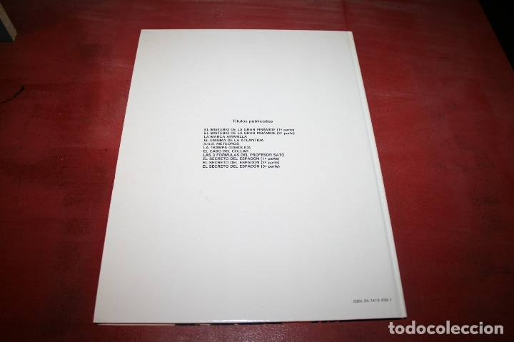 Cómics: BLAKE Y MORTIMER - EL SECRETO DEL ESPADÓN 3ª PARTE - E.P.JACOBS - JUNIOR - 1987 - Foto 4 - 179106538