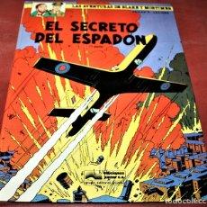 Cómics: BLAKE Y MORTIMER - EL SECRETO DEL ESPADÓN 1ª PARTE - E.P.JACOBS - JUNIOR - 1987. Lote 179106706