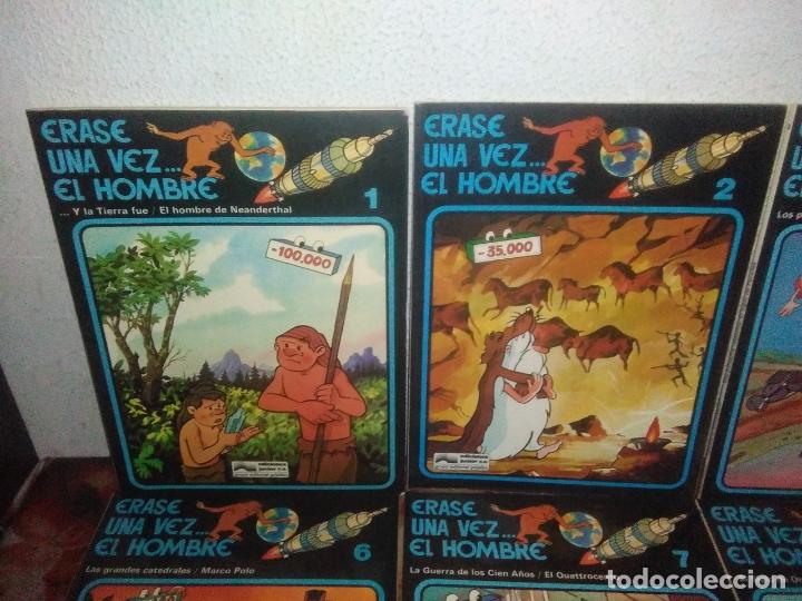 Cómics: Colección Completa de 13 Cómics Érase una Vez el Hombre Ediciones Junior / Grijalbo 1979 - Foto 2 - 179156002