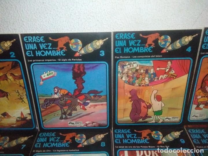 Cómics: Colección Completa de 13 Cómics Érase una Vez el Hombre Ediciones Junior / Grijalbo 1979 - Foto 3 - 179156002