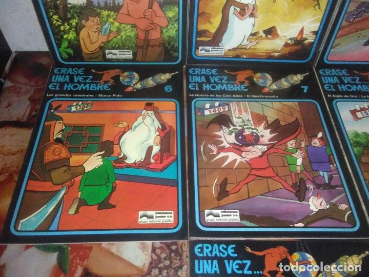 Cómics: Colección Completa de 13 Cómics Érase una Vez el Hombre Ediciones Junior / Grijalbo 1979 - Foto 5 - 179156002