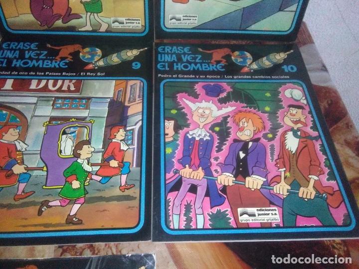 Cómics: Colección Completa de 13 Cómics Érase una Vez el Hombre Ediciones Junior / Grijalbo 1979 - Foto 7 - 179156002