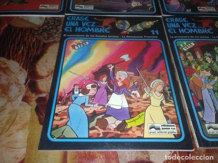 Cómics: Colección Completa de 13 Cómics Érase una Vez el Hombre Ediciones Junior / Grijalbo 1979 - Foto 8 - 179156002