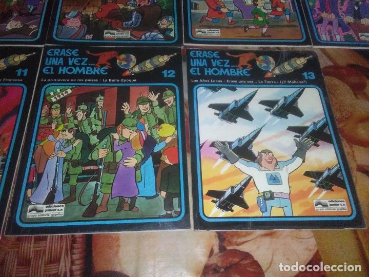 Cómics: Colección Completa de 13 Cómics Érase una Vez el Hombre Ediciones Junior / Grijalbo 1979 - Foto 9 - 179156002