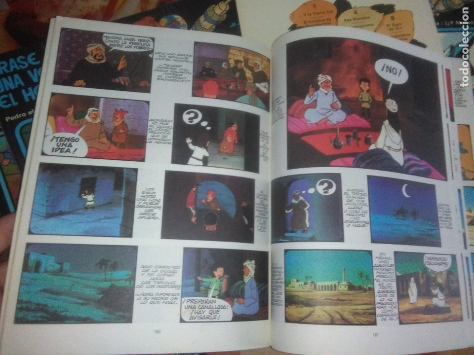 Cómics: Colección Completa de 13 Cómics Érase una Vez el Hombre Ediciones Junior / Grijalbo 1979 - Foto 12 - 179156002