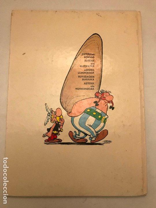 Cómics: ASTERIX ETA NORMANDOAK / Y LOS NORMANDOS. EUSKERA VASCO. MAS IVARS 1ª EDICION 1976 - Foto 2 - 213765246