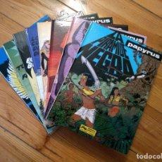 Comics : PAPYRUS COMPLETA EN 8 TOMOS NºS 3 4 5 6 7 8 9 10 D2. Lote 179166651
