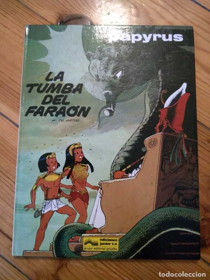 Cómics: Papyrus completa en 8 tomos nºs 3 4 5 6 7 8 9 10 D2 - Foto 7 - 179166651