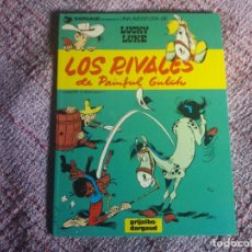 Cómics: LOS RIVALES DE PAINFUL GULCH. LUCKY LUKE. GRIJALBO DARGAUD. N° 33.. Lote 179169615