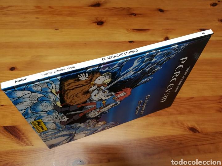 Cómics: PERCEVAN Nº2 EL SEPULCRO DE HIELO. EDITORIAL JUNIOR - Foto 4 - 179181557