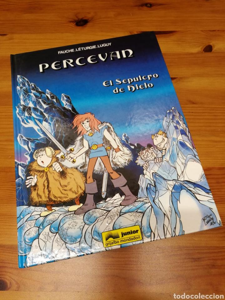 PERCEVAN Nº2 EL SEPULCRO DE HIELO. EDITORIAL JUNIOR (Tebeos y Comics - Grijalbo - Percevan)