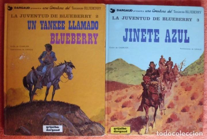 COLECCIÓN LA JUVENTUD DE BLUEBERRY DE CHARLIER Y GIRAUD VER TODAS LAS IMAGENES (Tebeos y Comics - Grijalbo - Blueberry)