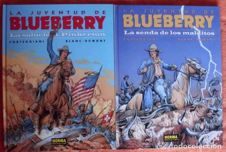 Cómics: COLECCIÓN LA JUVENTUD DE BLUEBERRY de Charlier y Giraud VER TODAS LAS IMAGENES - Foto 4 - 179192923