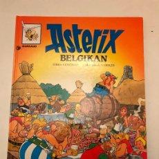 Cómics: ASTERIX IDIOMAS Nº 20 ASTERIX BELGIKAN. EN BELGICA. EUSKERA VASCO. ELKAR. TAPA DURA. Lote 179197355