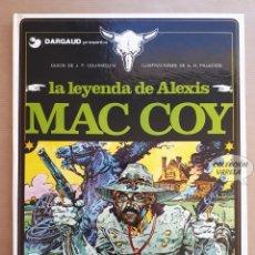 Cómics: MAC COY Nº 1 - LA LEYENDA DE ALEXIS - GOURMELEN Y PALACIOS - GRIJALBO - JMV. Lote 179309450