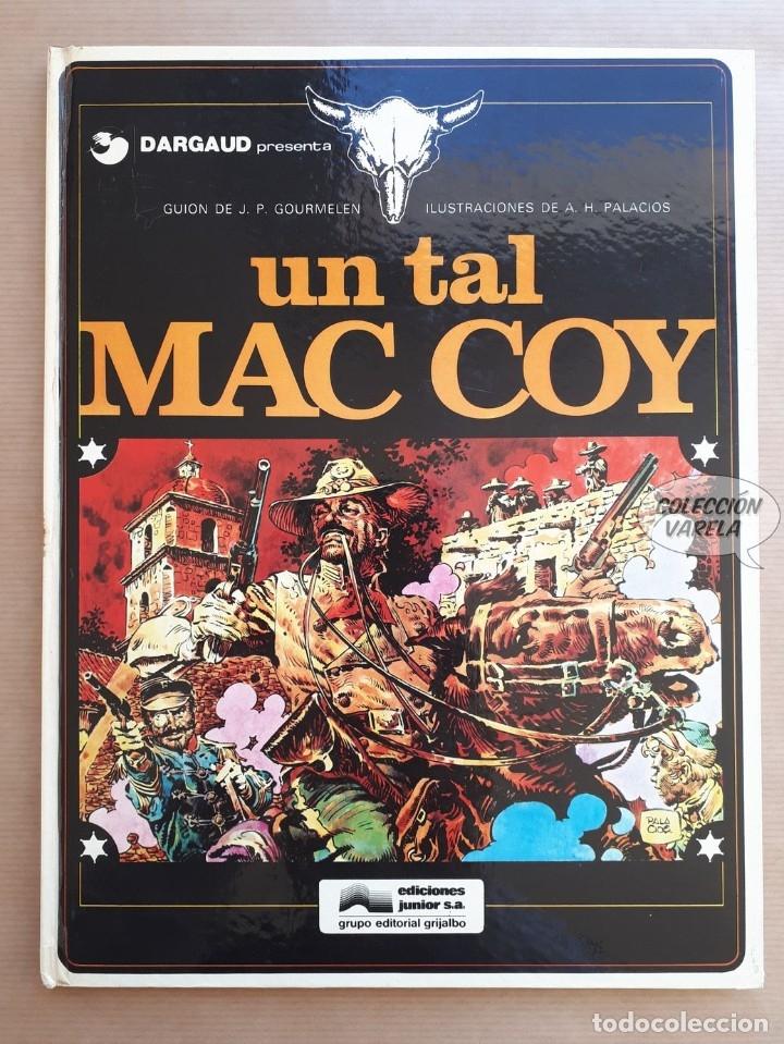 MAC COY Nº 2 - UN TAL - GOURMELEN Y PALACIOS - GRIJALBO - JMV (Tebeos y Comics - Grijalbo - Mac Coy)
