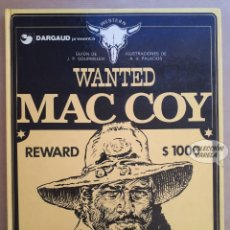 Cómics: MAC COY Nº 5 - WANTED - GOURMELEN Y PALACIOS - GRIJALBO - JMV. Lote 179310397