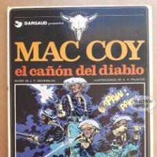 Cómics: MAC COY Nº 9 - EL CAÑÓN DEL DIABLO - GOURMELEN Y PALACIOS - GRIJALBO - JMV. Lote 179315121