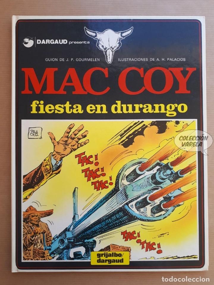MAC COY Nº 10 - FIESTA EN DURANGO - GOURMELEN Y PALACIOS - GRIJALBO - JMV (Tebeos y Comics - Grijalbo - Mac Coy)