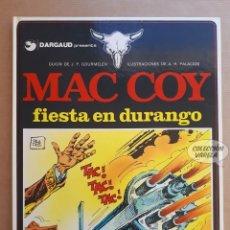 Cómics: MAC COY Nº 10 - FIESTA EN DURANGO - GOURMELEN Y PALACIOS - GRIJALBO - JMV. Lote 179315473