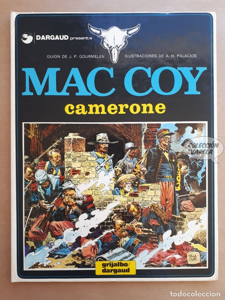 MAC COY Nº 11 - CAMERONE - GOURMELEN Y PALACIOS - GRIJALBO - JMV (Tebeos y Comics - Grijalbo - Mac Coy)