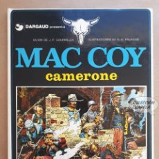 Cómics: MAC COY Nº 11 - CAMERONE - GOURMELEN Y PALACIOS - GRIJALBO - JMV. Lote 179315676