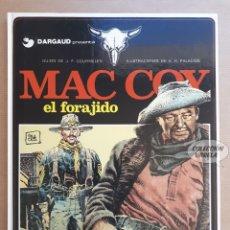Cómics: MAC COY Nº 12 - EL FORAJIDO - GOURMELEN Y PALACIOS - GRIJALBO - JMV. Lote 179315892