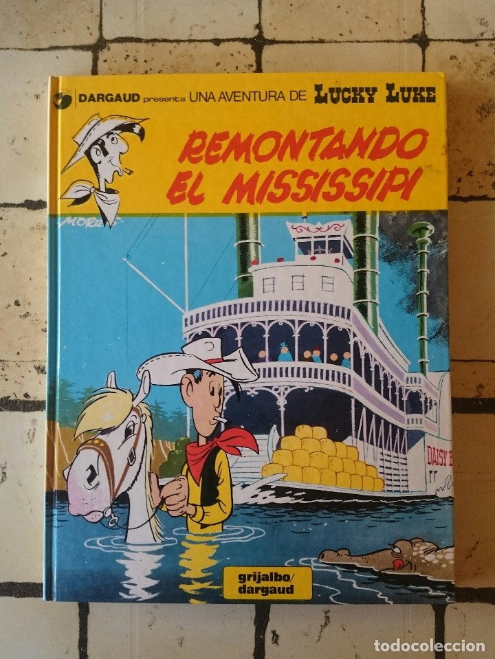 LUCKY LUKE N 9. REMONTANDO EL MISSISSIPI. (Tebeos y Comics - Grijalbo - Lucky Luke)