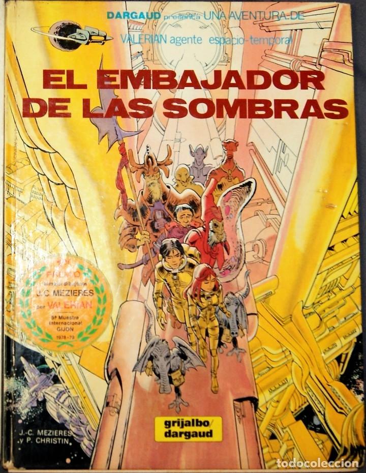 EL EMBAJADOR DE LAS SOMBRAS(Tebeos y Comics - Grijalbo - Valerian)